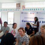 Ceremonial Turnover of Birth Certificates to IDPs in Barangay Kasanyangan