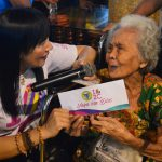 Beng gives city's bday cash  gifts to 3,336 senior citizens