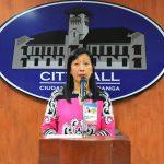 Beng climaco city hall press con